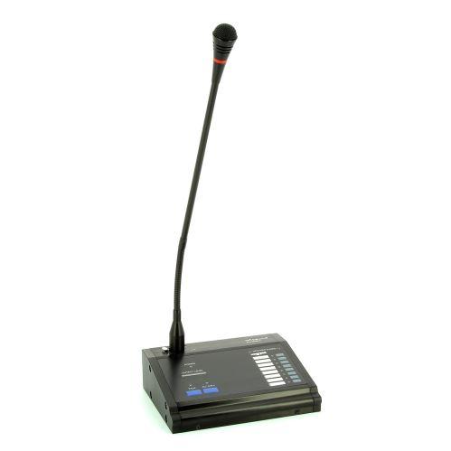 ART SOUND MIC-8000A - stolní mikrofon pro MAT-8000 s možností hlášení do jednotlivých zón