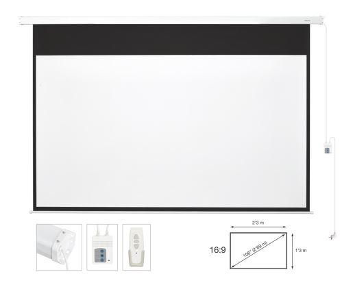 Fonestar PPEL-16106-BA - Electrické plátno 16:9, 106