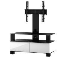 TV stolek Sonorous MD 8953 C-HBLK-WHT