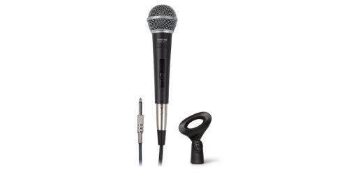 Fonestar FDM-1036 - magnetodynamický ruční mikrofon s vypínačem a kabelem.