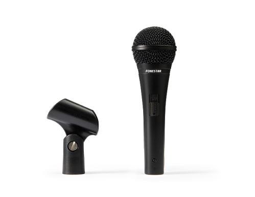 Fonestar FDM-9071 - drátový ruční mikrofon s vypínačem