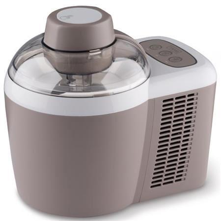 Trebs 99328 - Výrobník zmrzliny s kompresorem, šedý