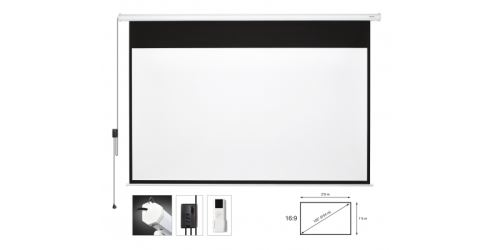 Fonestar PPEL-16120-BA - Electric projector screen 120''
